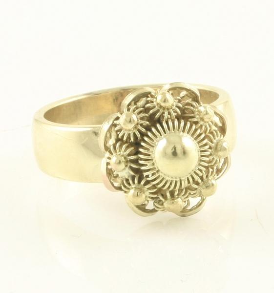 Uitzonderlijk Gouden Sieraden :: Gouden Ring :: Zeeuwse Knoop :: Zeeuwse Knoop  &BO71