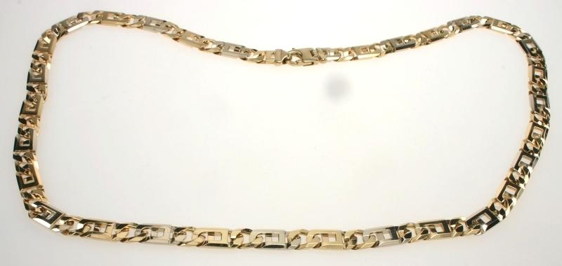 Uitzonderlijk Gouden Sieraden :: Gouden Collier :: Ketting Schakel :: Ketting  @DB68