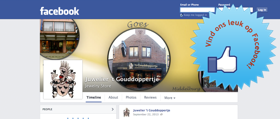 Vindt ons leuk op Facebook!