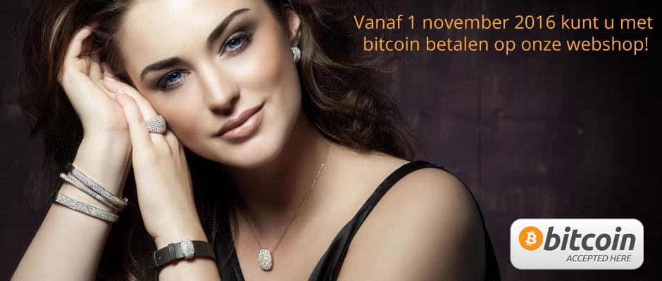 Gouddoppertje accepteer Bitcoin